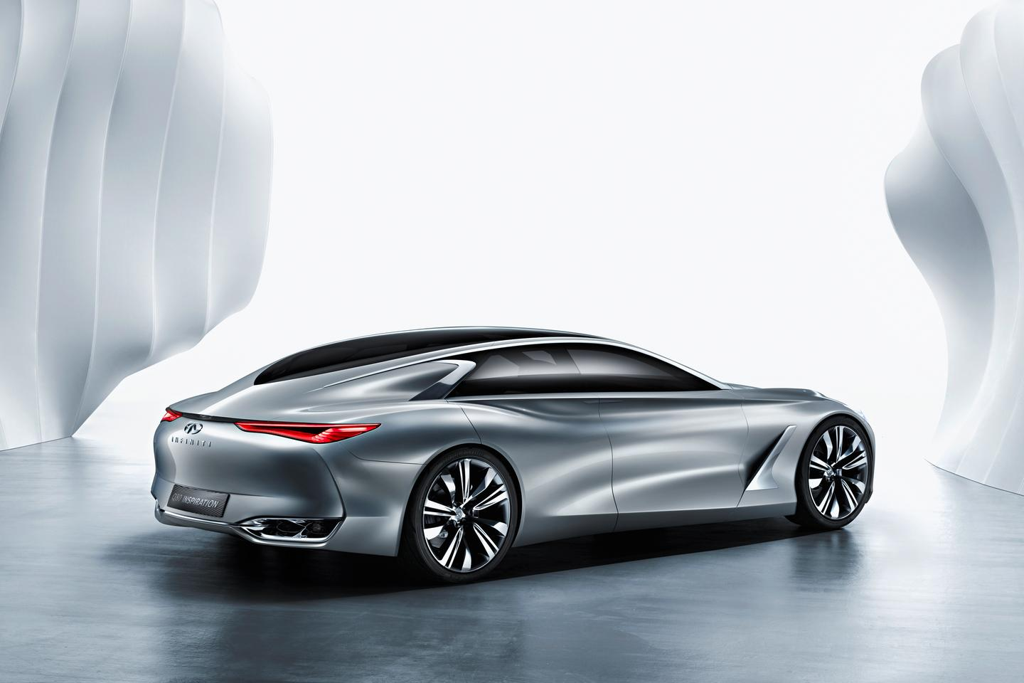 Featuring an advanced adaptive suspension system and a strong, light chassis, the Q80 also uses acoustic glass throughout the car in an effort to deliver a premium driving experience