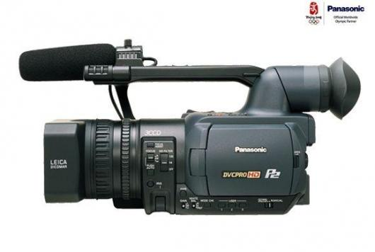 Panasonic's AG-HVX200 digital video camera