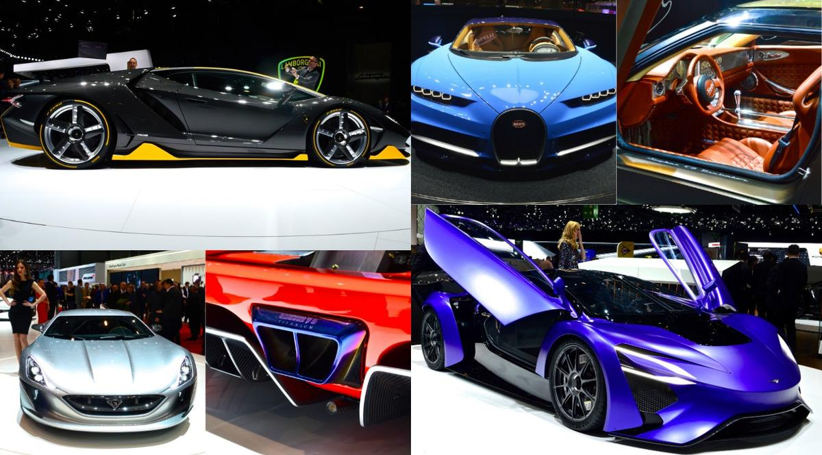 Sports cars of Geneva