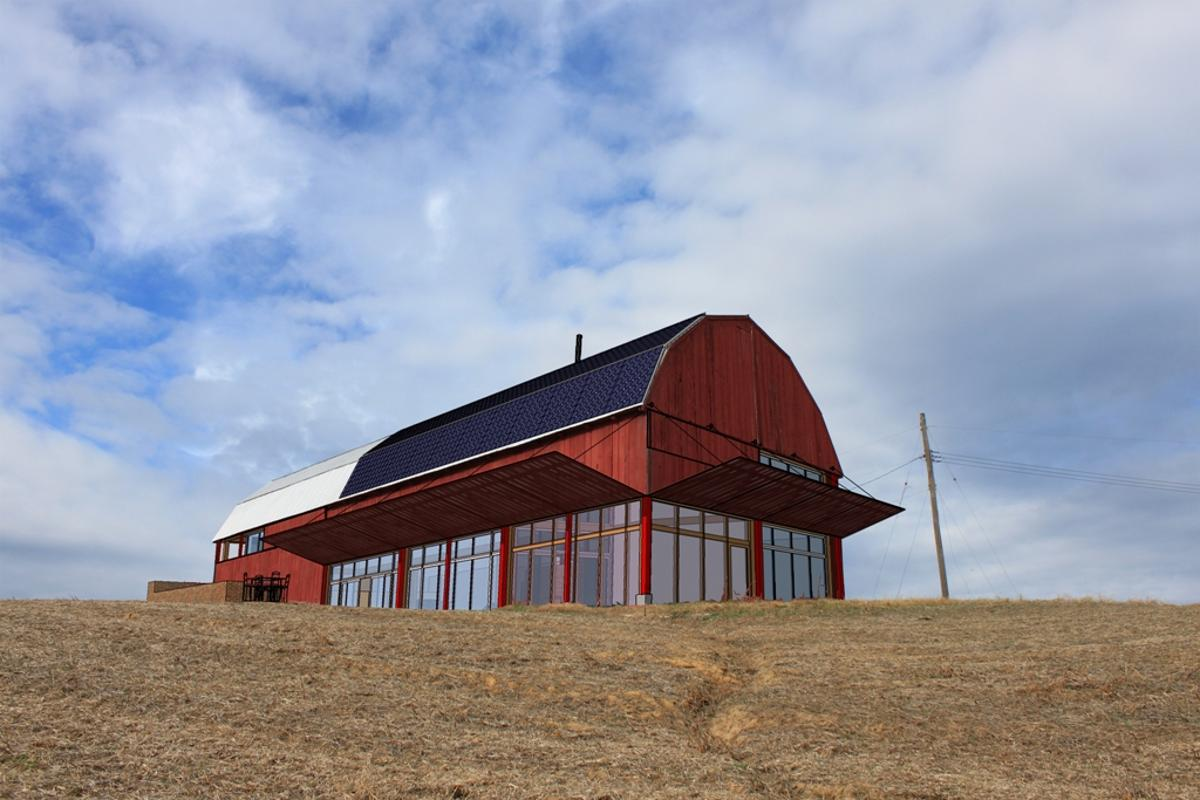 Visualization: Re-Barn converted tobacco barn