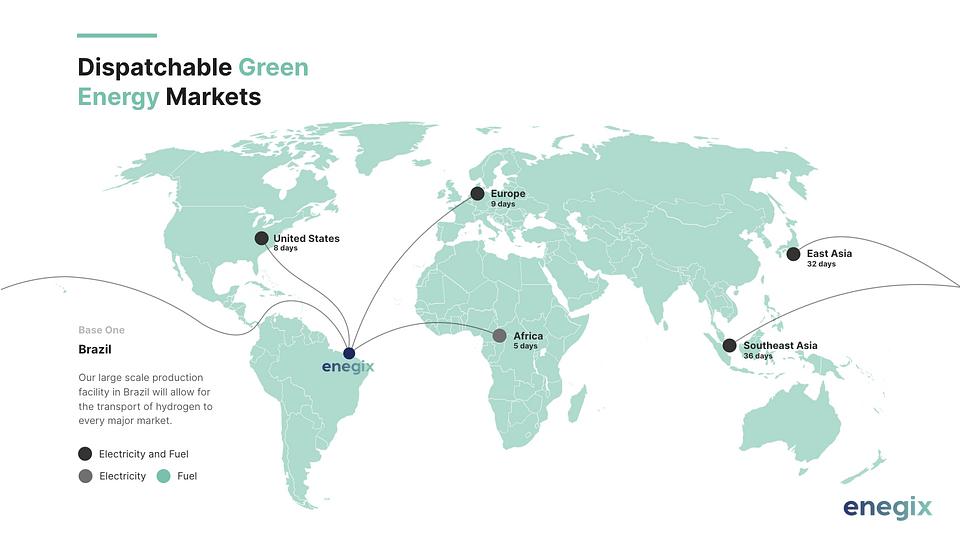 Base One의 위치는 북미, 유럽 및 아프리카 수출에 이상적입니다.