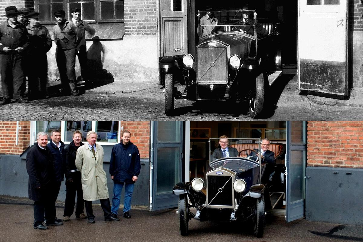 85 years later - to the minute - happy birthday to the company that focussed on automotive safety long before it became fashionable