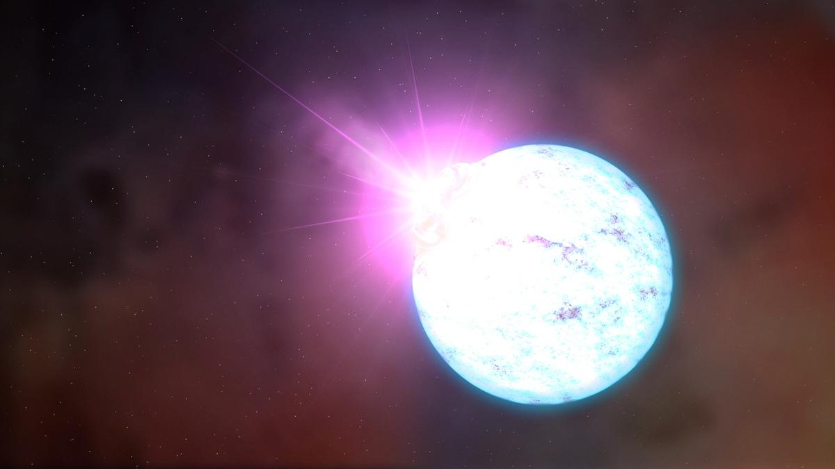 """Computer simulations have found that""""nuclear pasta"""" –strange material found inside neutron stars – may just be the strongest material in the universe"""