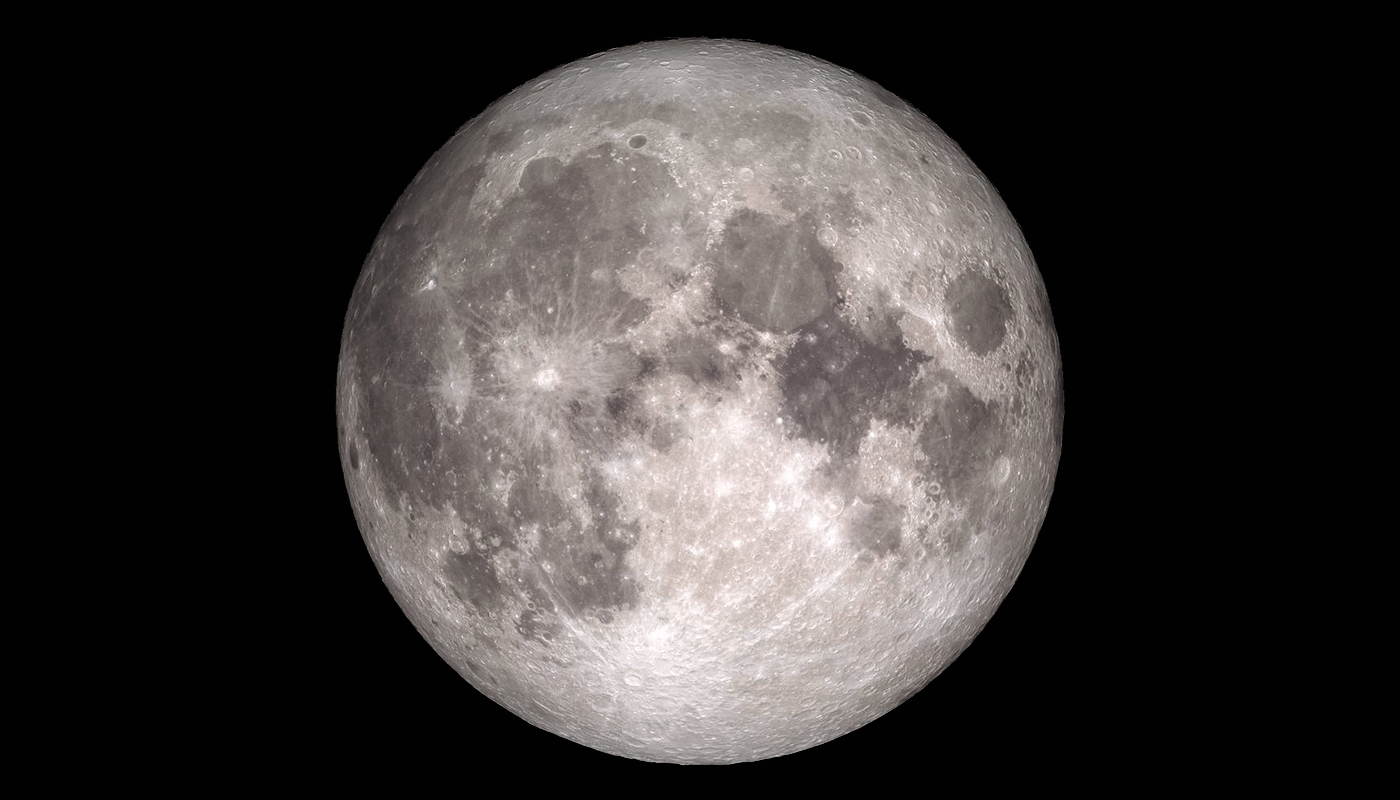 Astronomers have detected molecular water on the Moon