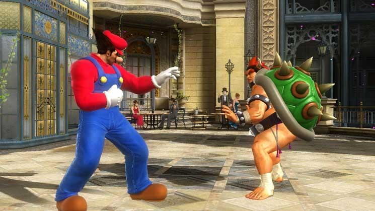 Several costumes will also be available to dress up the fighters as Mario, Princess Toadstool, Starfox, and other well-known Nintendo characters