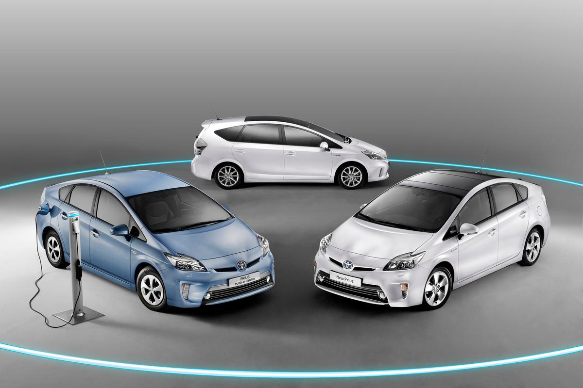 New Prius Family - Prius, Prius and Prius Plug-in Hybrid