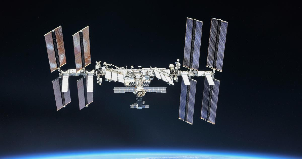 The ISS changes course to dodge space debris on short notice