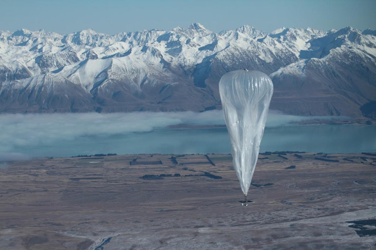 Project Loon balloons have previously been tested n New Zealand and Brazil
