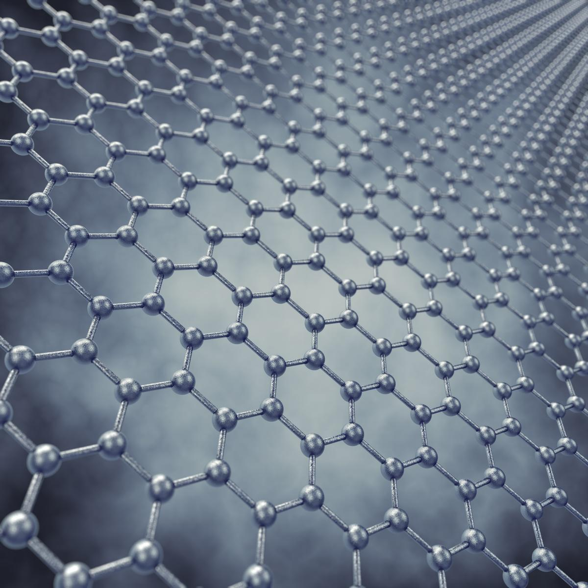 Columbia University researchers have come up with a way to produce large joined sheets of graphene which are just as strong as the material in its pure, crystalline form (Image: Shutterstock)