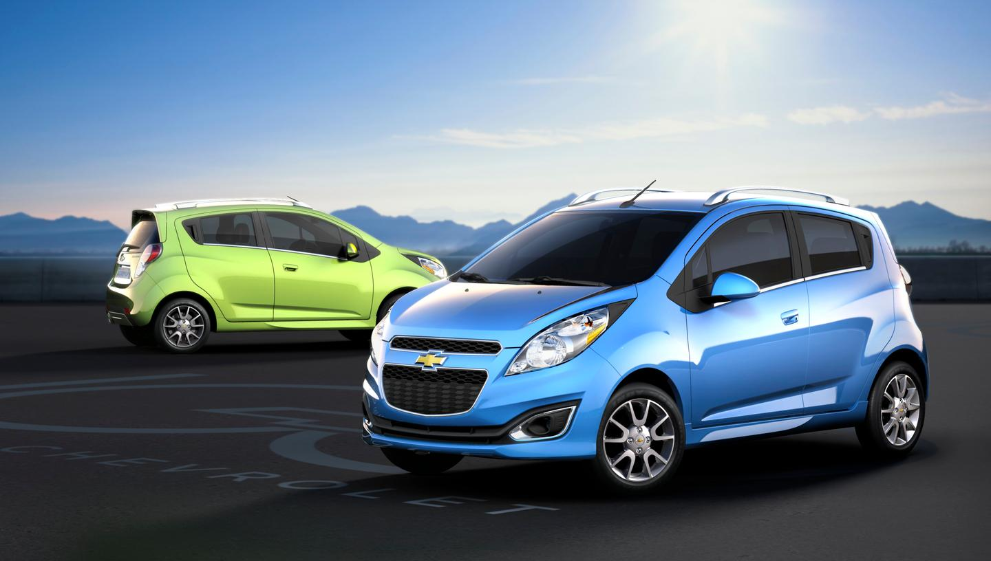 An all-electric version of the Spark will be available from 2013