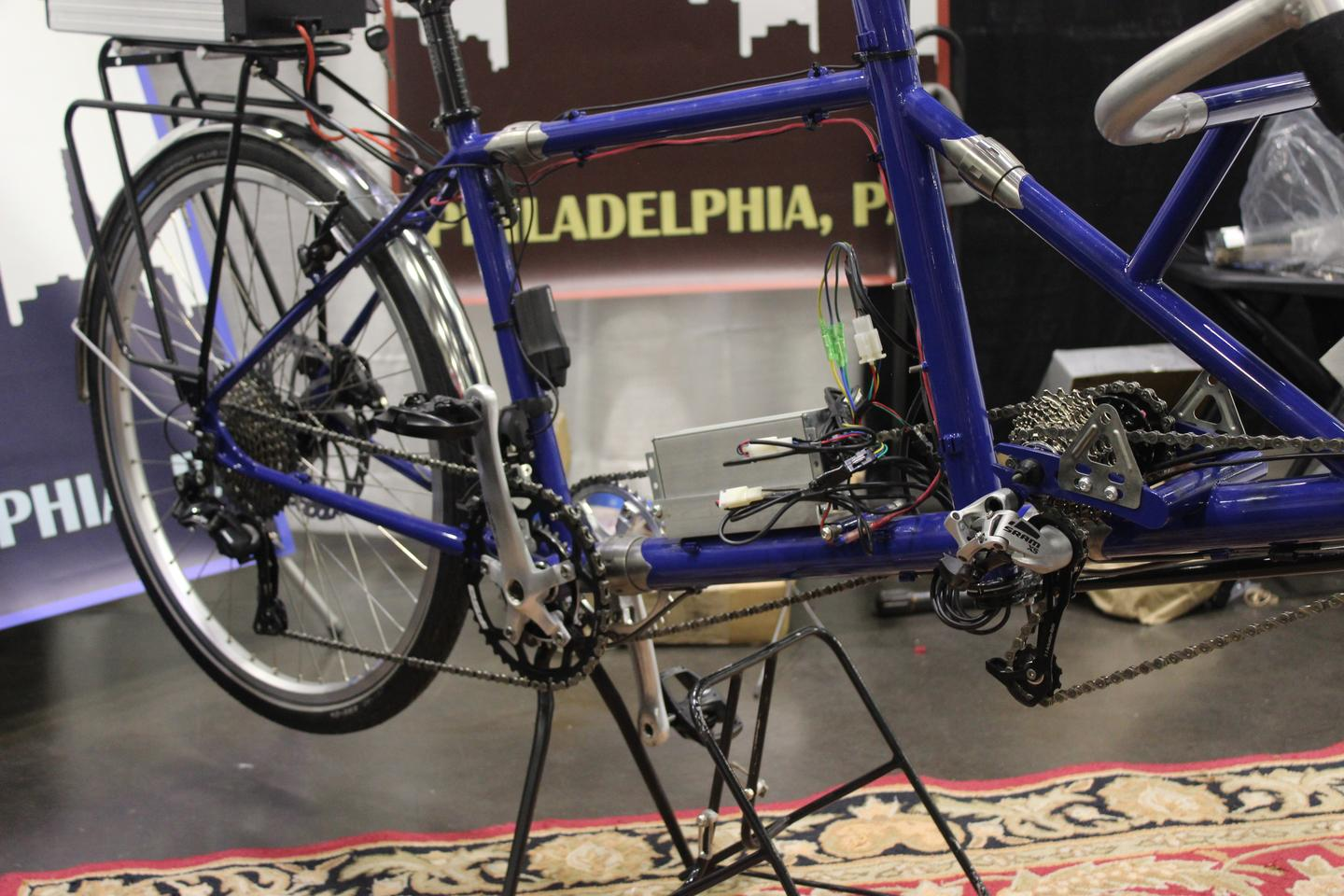 One thing that sets the Bilenky ViewPoint eHarmonyapart from most other tandems is its independent cadence system