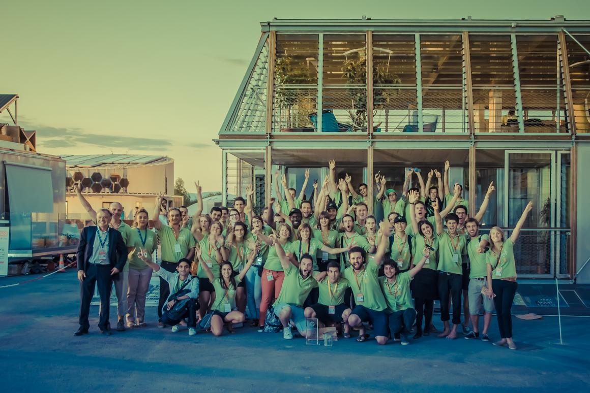 The French Rhone Alpes team has won this year's European Solar Decathlon with its Canopea modular home concept