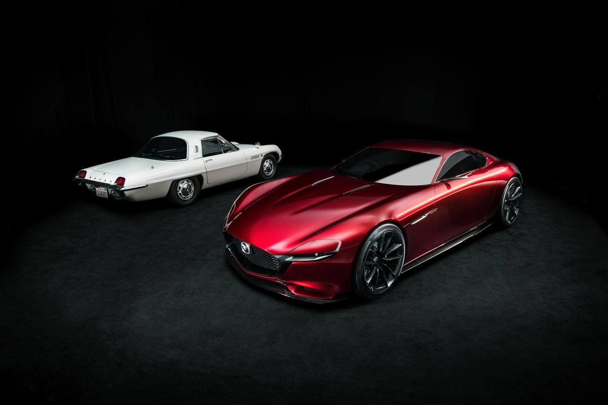 Mazda is celebrating 50 years of the WankelRotary