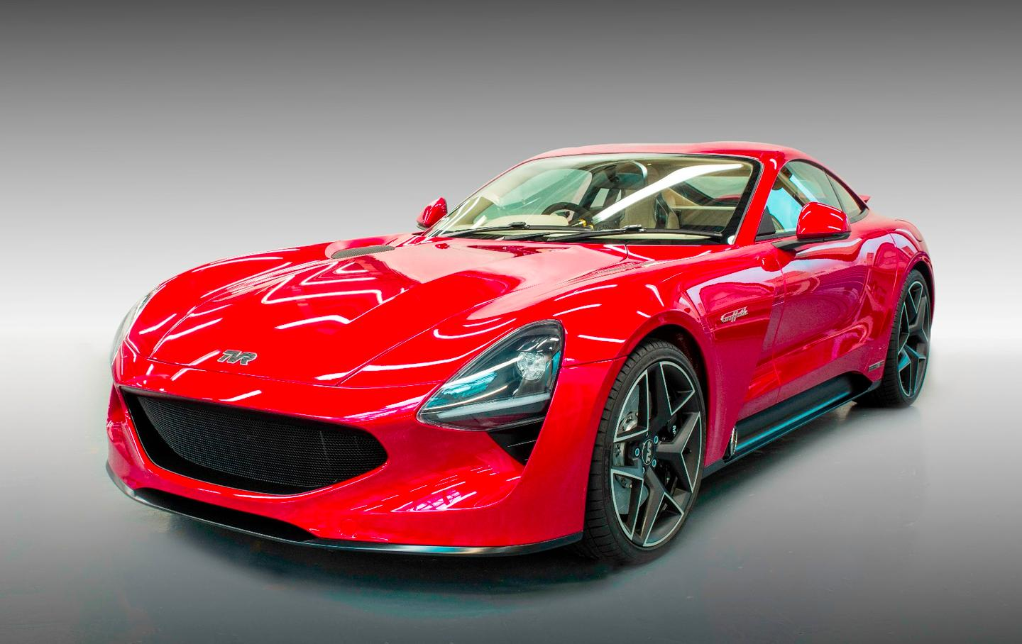 The TVR Griffith was unveiled this Friday