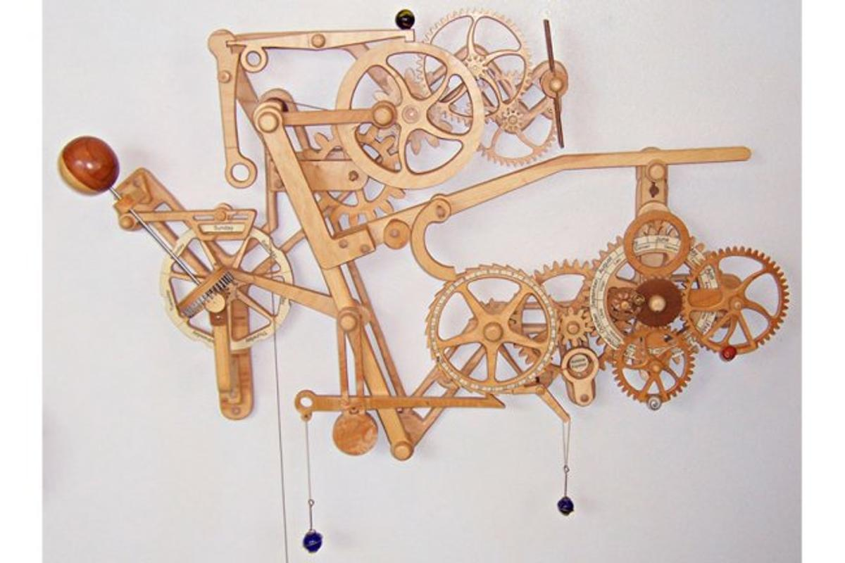 Clayton Boyer's Celestial Mechanical Calendar and Orrery - are you up to the challenge?