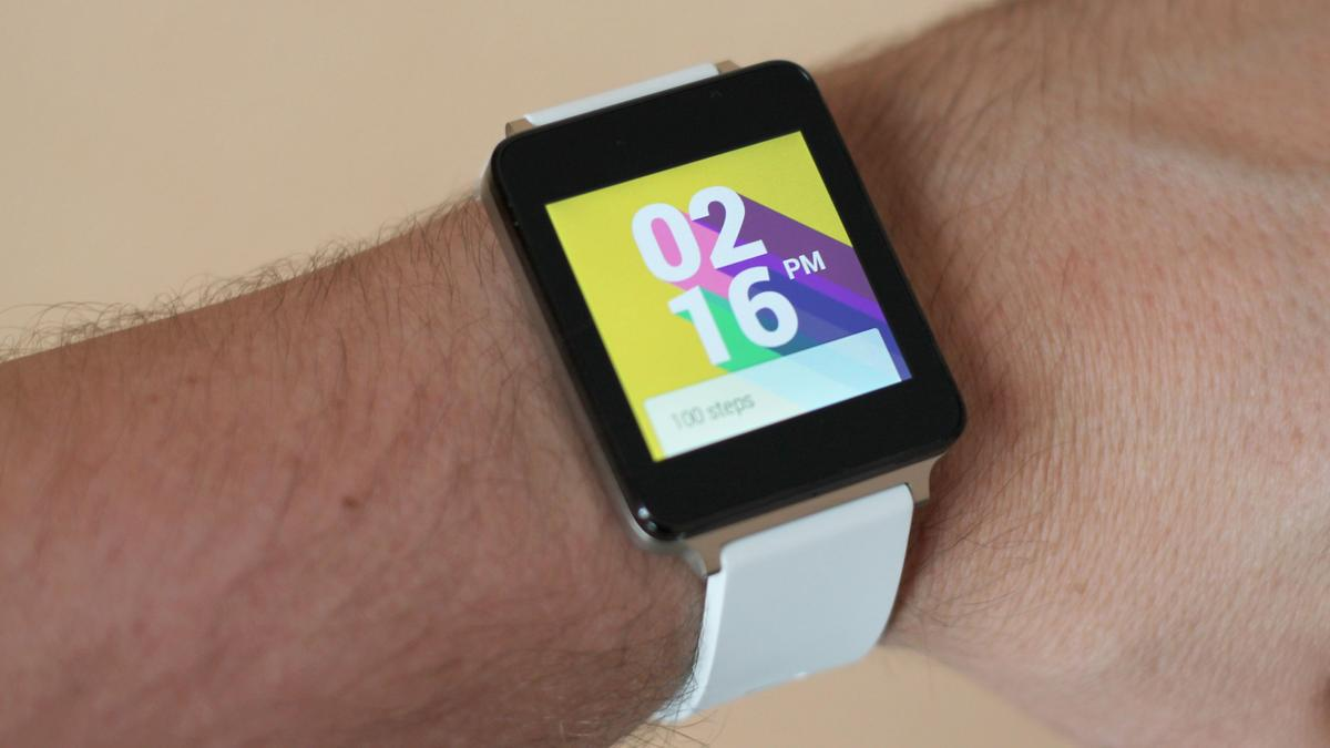 Gizmag takes a first look at one of the first Android Wear smartwatches, the LG G Watch