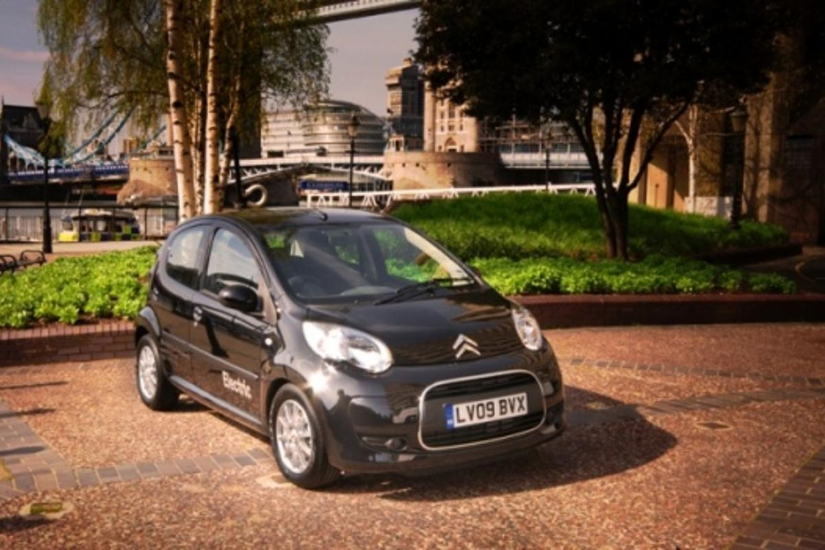 Citroen's C1 ev'ie, the UK's first all-electric family car, has gone on sale in the United Kingdom