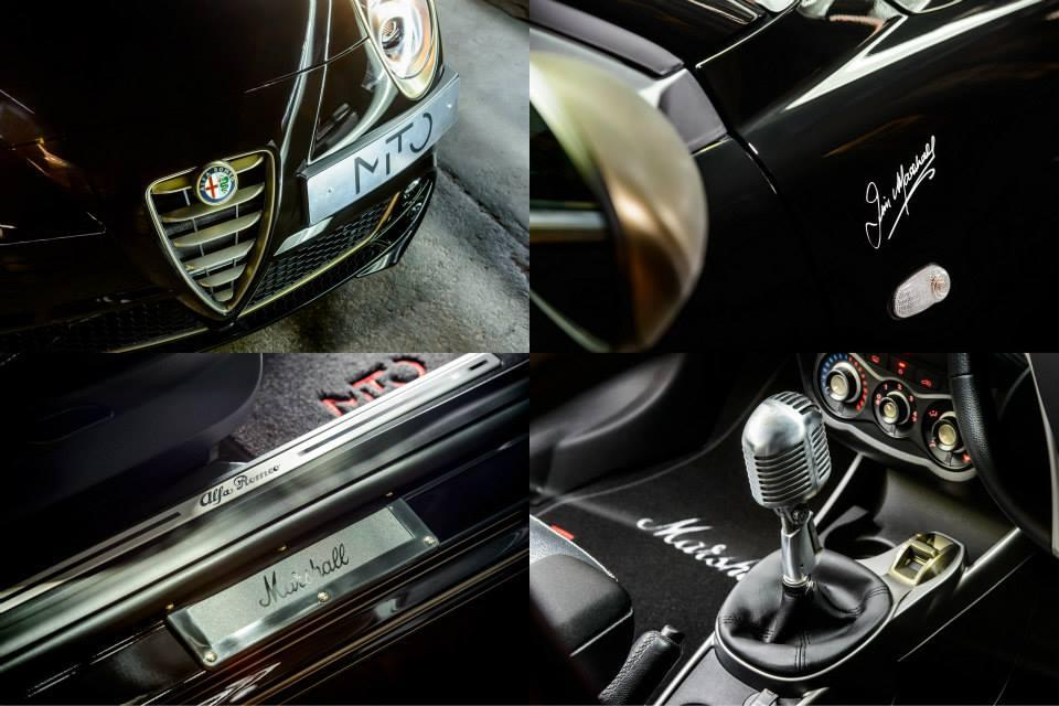 The Alfa MiTo by Marshall brings the road and concert hall together