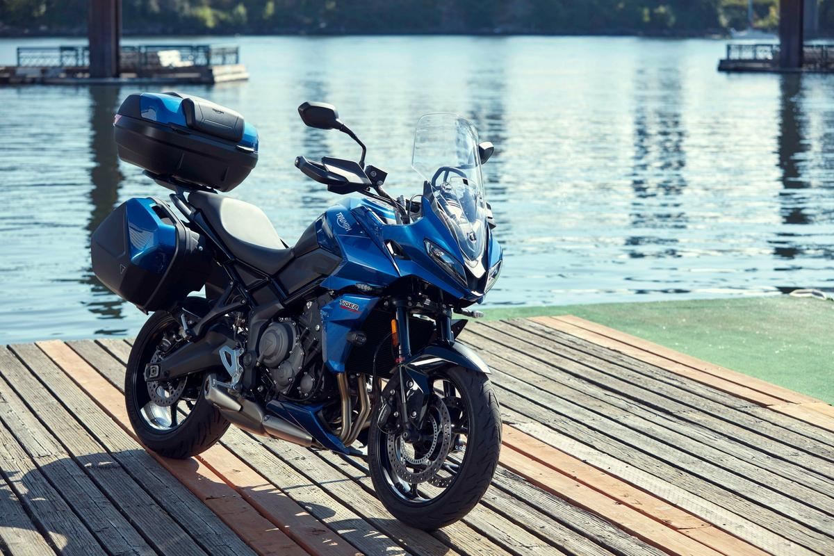 Triumph designed the 2022 Tiger Sport 660 to be a versatile do-it-all bike, supported with a long list of optional gear