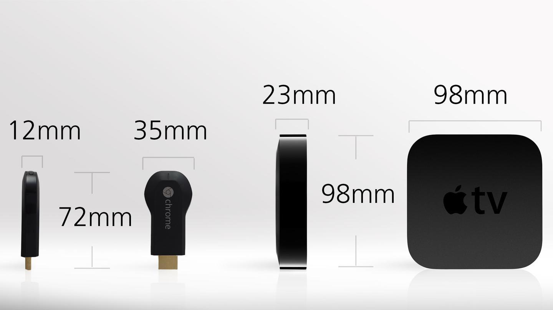 Google Chromecast Vs Apple Tv