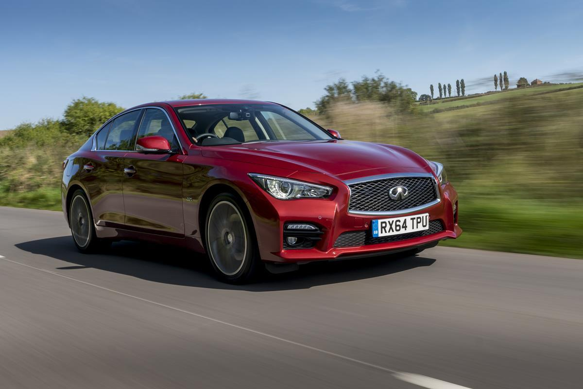 Debuting on the 2016 Infiniti Q50 is the second-generation Direct Adaptive Steering system