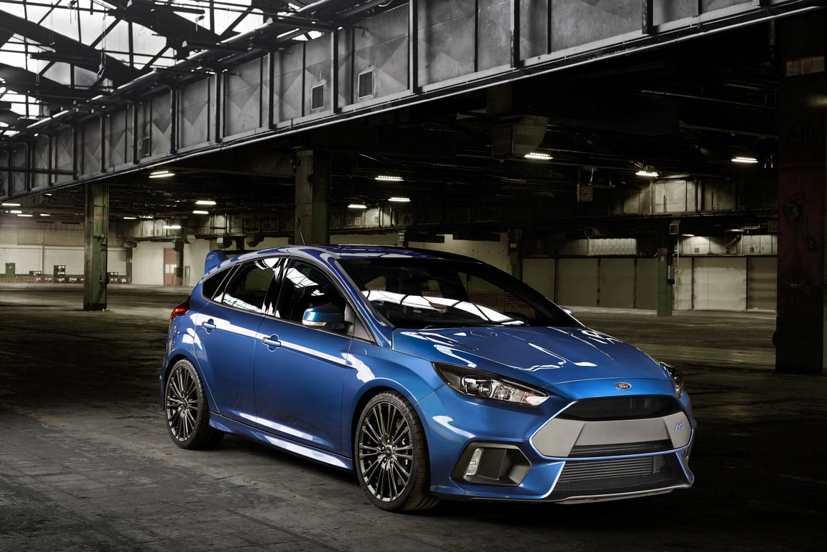 The Focus RS will be sold worldwide, unlike its predecessor