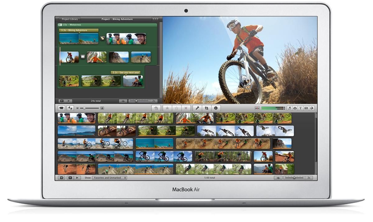 Apple's new MacBook Air 13-inch laptop