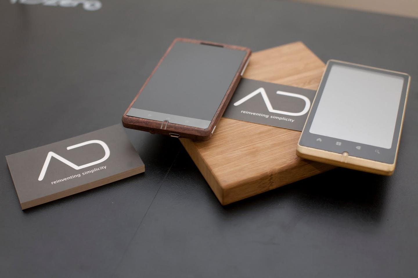 ADzero prototypes appear to come in two colors, the darker of which may be stained (Photo: ADzero)