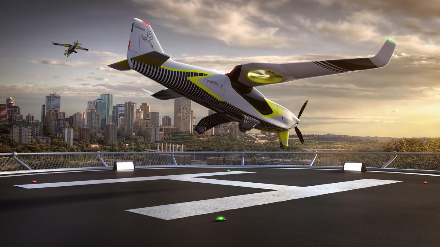 With the Atea, France's Ascendance proposes a long-range, low-emission hybrid vtol aircraft for early air taxi use