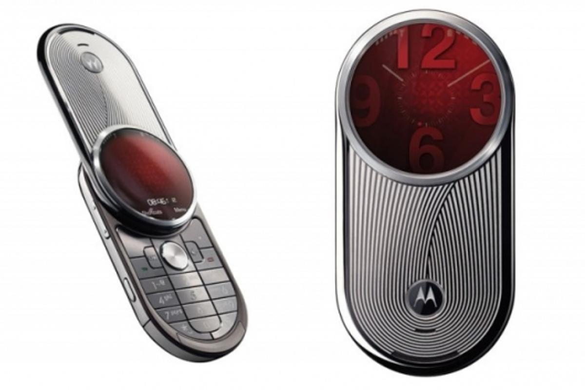 Inspired by luxury watch design: Motorola AURA