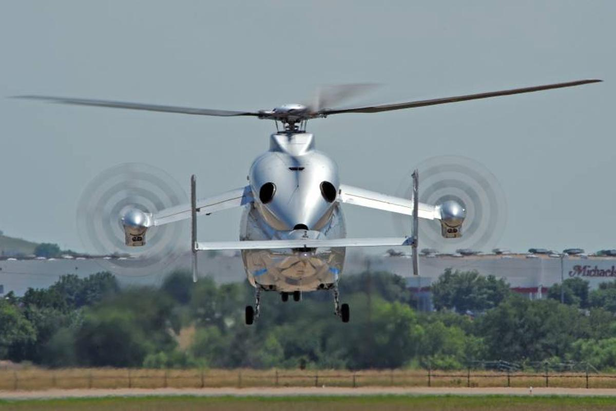 Eurocopter's X3 takes to American skies for the first time