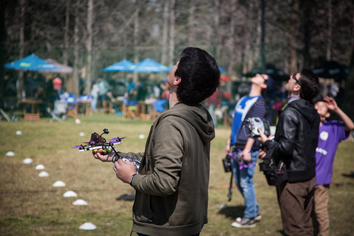 Pilots get some practice in at Chile's Drone Nationals