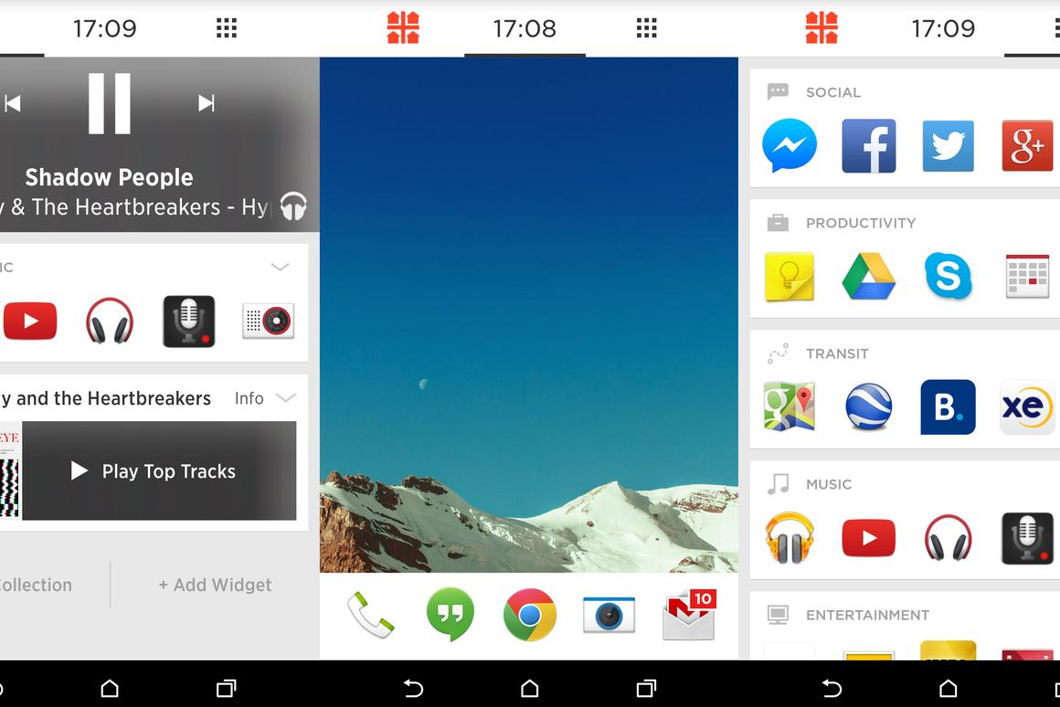 Five of the best: Android launchers