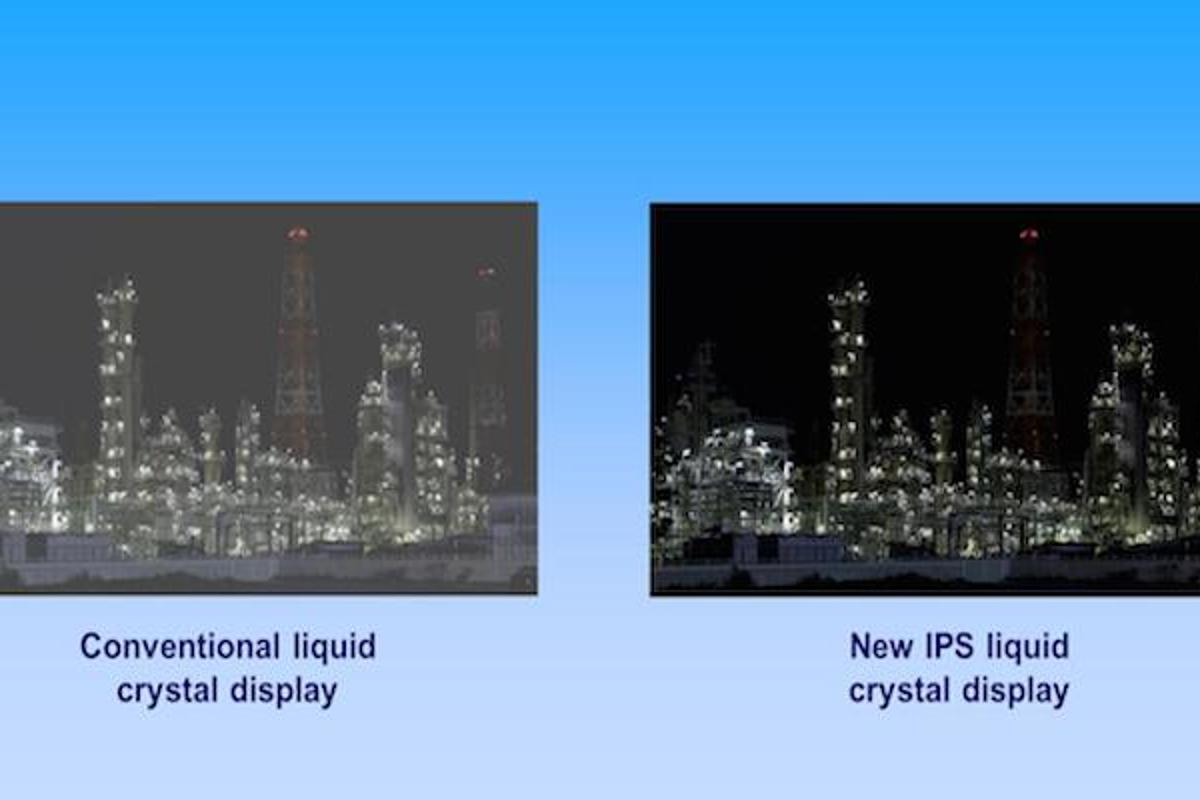 Panasonic has announced a new IPS LCD panel with a contrast ratio of 1,000,000:1, which is 600 times that of its existing LCD displays