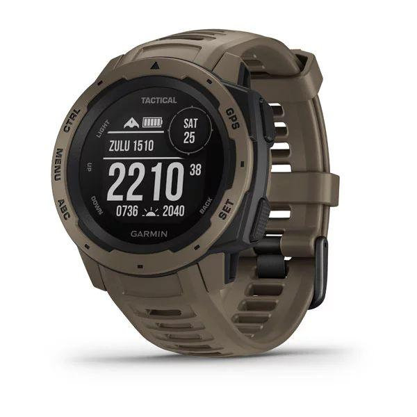 The new Garmin Instinct Tactical Edition smartwatch is available now for US$350