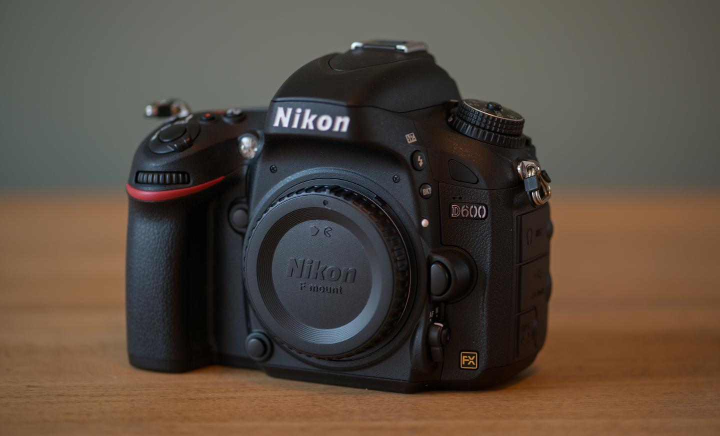 The Nikon D600 is a 24.3-megapixel full-frame DSLR