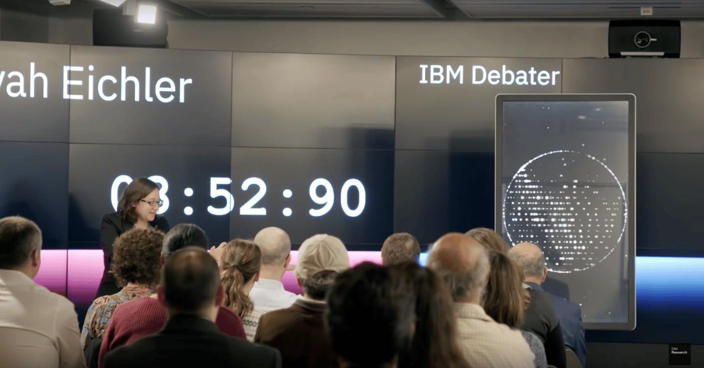 IBM's Project Debater has won a debate by audience vote