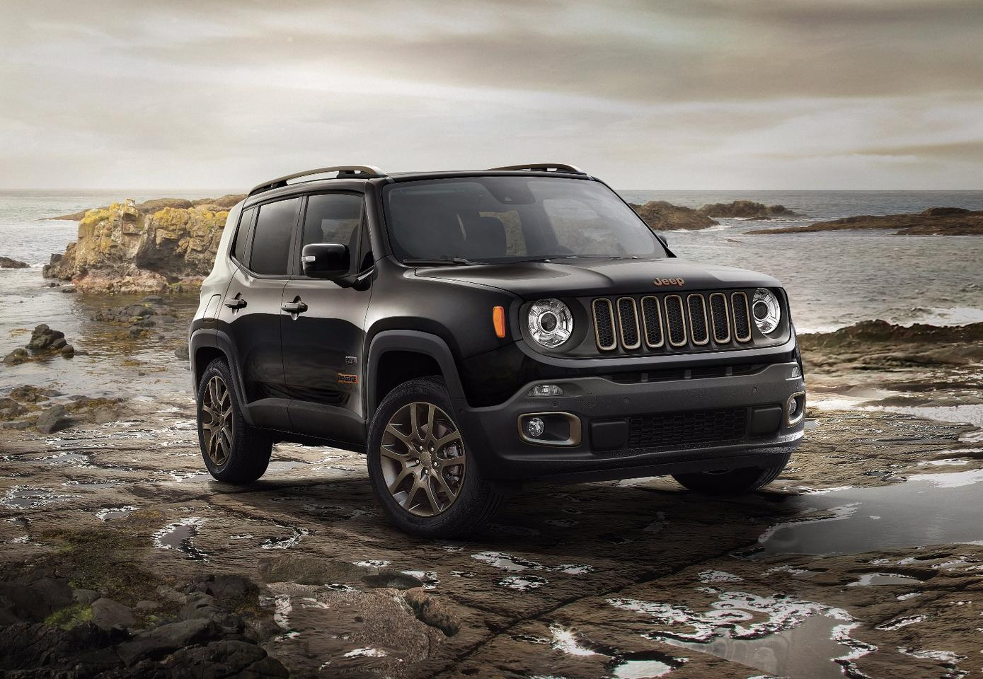 75th anniversary edition of the Jeep Renegade