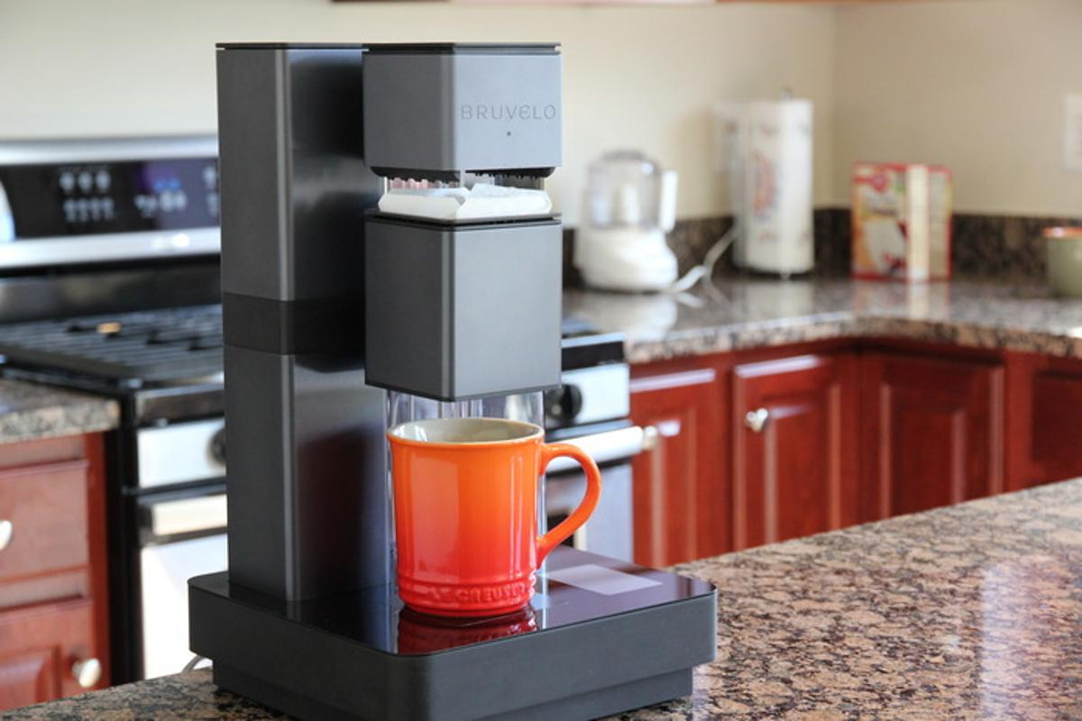 The Bruvelo smart coffee maker is designed to make a better cup of morning goodness through different brewing profiles and high-end features