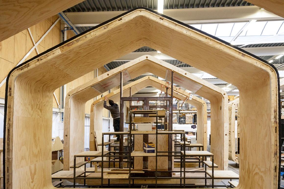 Modular tiny house proves there's more to cardboard than