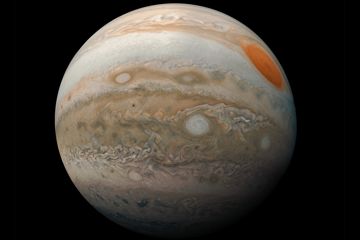 Scientists have recreated helium rain, which may fall in the atmospheres of gas giants like Jupiter