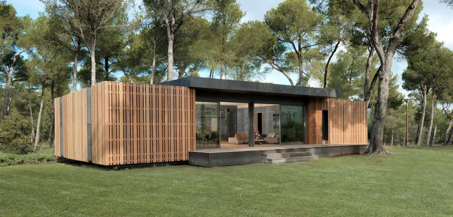 The Pop-Up House, by Multipod Studio, is built to Passive House standards