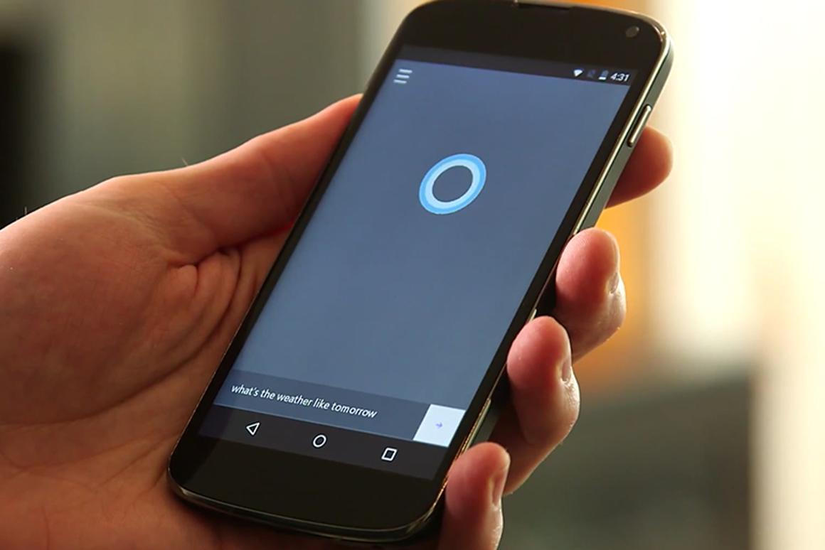 Your eyes do not deceive you: It's Cortana on Android