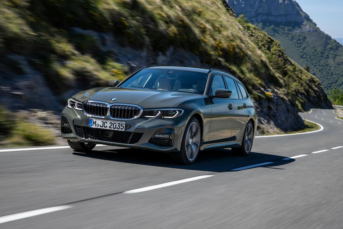 The new 3 Series Touring is a station wagon in the tradition of European estates