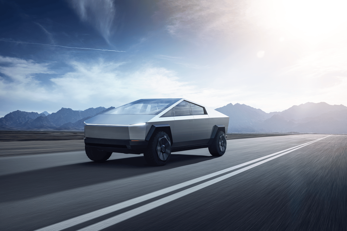 Adaptive suspension and ride height give it massive on-road range up to 500 miles per charge