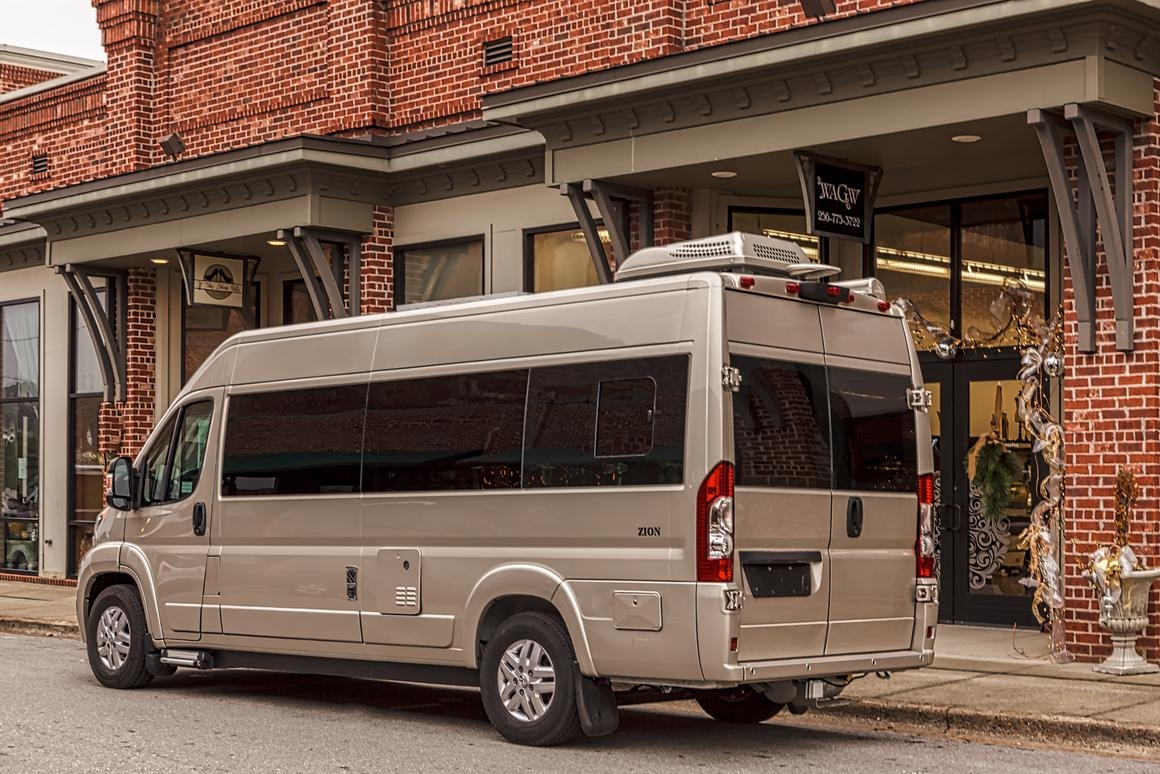 The all-new Roadtrek Zion seats up to five and sleeps three