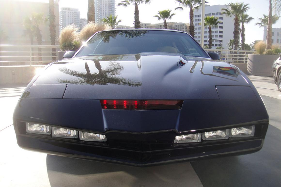 Cars and lasers, together again (Photo: pop culture geek)