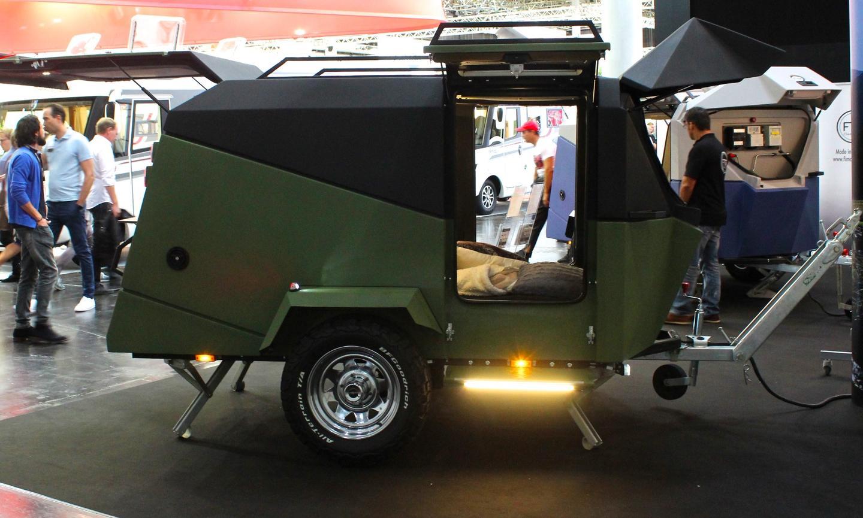 The rugged Migrator Off-Road on show at the 2018Düsseldorf Caravan Salon