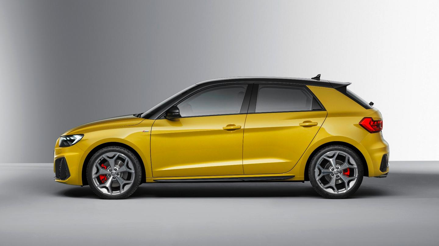The Audi A1 Sportback S model includes a 2.0-liter engine and manual gearbox, the largest engine in the A1 line