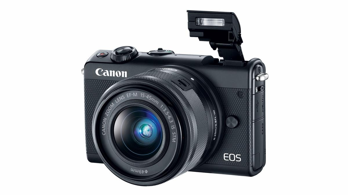 The Canon EOS M100 mirrorless camera is aimed at mobile photographers who want more than a smartphone camera can offer